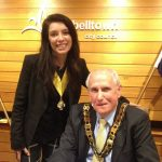 Paul Hawker, and his deputy, Alana Matheson, are retiring from Campbelltown Council.