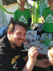Greens councillor Ben Moroney