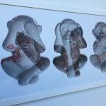Three Wise Monkeys is part of the See Me, Hear Me exhibition