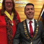 mayor George Brticevic and deputy mayor Meg Oates.