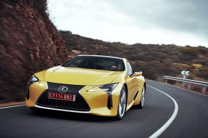 Lexus has started the year with a boost in sales.