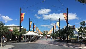 Artists will work with local community groups to produce creative content for the urban screen in Liverpool's Macquarie Mall.