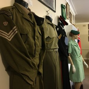 Check out the military museum of the sub branch