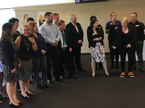 Campbelltown business chamber has a good representation of women in its executive.