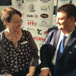 24 Hour Macarthur deputy chairperson Sue McGarrity and chairman Warren Morrison