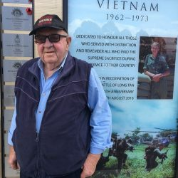 Vietnam veteran Kerry Chisholm