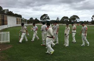 The Ghosts will be chasing 234 for victory