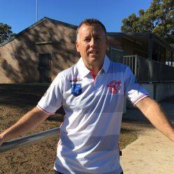 East Campbelltown Eagles president Daniel Draper