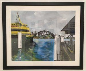 Corrado Peluso's View from Circular Quay