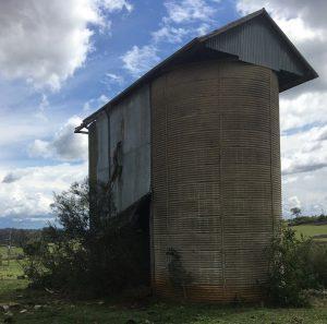 The Vardys Estate silos.