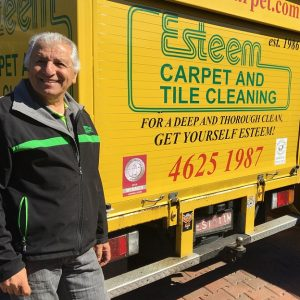 Sal has been cleaning our carpets for 33 years and still loves it