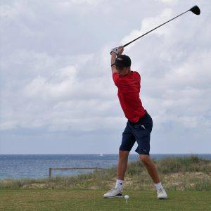 Spotlight's on next crop of emerging golfers