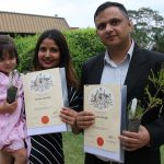 Sarita Dahal Gyawali and Madhav Gyawali were among 200 Campbelltown residents who become Australian citizens at the first of two naturalisation ceremonies last Wednesday.