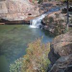 Dharawal National Park Minerva pool waterfall