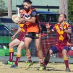 Roosters and the Oaks Tigers played out an entertaining 32-32 draw on Sunday.