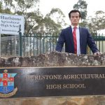 Chanthivong fighting to keep iconic Hurlstone High in south west Sydney.
