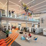 Oran Park library.