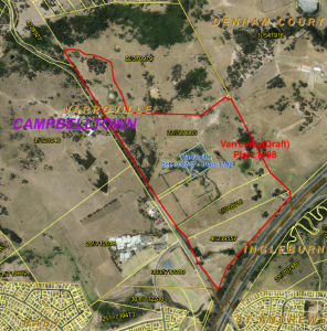 The proposed curtilage area to be heritage listed