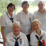 Bunbury Girl Guide Trefoil Guild awards.