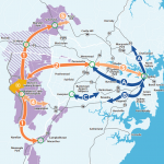 rail options for Western Sydney airport.