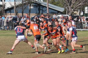 Oaks Tigers booked their place in the 2018 Group 6 grand final after defeating Camden Rams 36-10 yesterday.