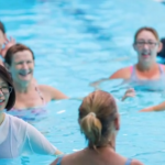 The Encore program includes hydrotherapy sessions.