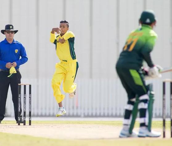 Teenage leg spinner Tanveer Sangha picked up eight wickets.