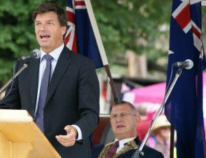 Hume MP Angus Taylor