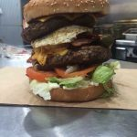 This is the burger mountain 19 contestants faced