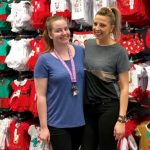 Best & Less store manager Biljana Omcikus (right), pictured with assistant store manager Cassie Murray.