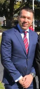 Mayor George Brticevic