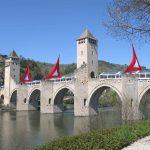 A 14th century bridge near Cahors.