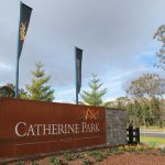 Traffic lights now operational at Catherine Park Estate.