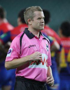 NRL referee Chris James
