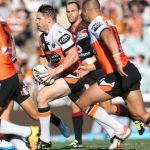 Chris Lawrence returns from injury for the Wests Tigers this Sunday against the Manly Sea Eagles.