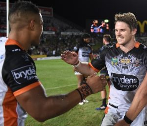 Chris Lawrence returns from a pectoral injury