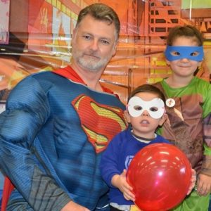 Dress up as your favourite comic book hero to celebrate the day