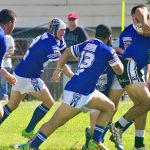 Kangaroos mount an attack in the second half against Narellan Jets on Sunday,