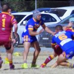 Campbelltown City Kangaroos recorded a thrilling 38-34 win over the Roosters at Thirlmere on Sunday.