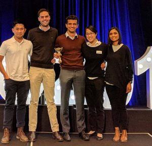 Liverpool Hospital doctors Johnson Tang, Noah Freelander, Cale Burge, Chilan Nguyen and Sarah Khan have won the inaugural NSW Junior Doctors Conference 2018 Medical Challenge.