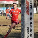 Daniel Muir scored a try in a first half blitz by East Campbelltown Eagles against Cabramatta Two Blues on Saturday.
