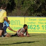 There was a try fest on the field between the Eagles and Cabramatta Two Blues