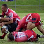 East Campbelltown Eagles coach Richard Barnes was pleased with his team's effort, despite losing the grand final replay 40-10 to Mounties.