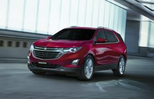 The Holden Equinox: seven year warranty