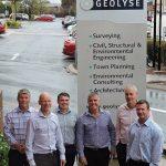 Geolyse'sGreg Cooper, Matthew Thorne and Martin Haege,and Premise's Patrick Brady, Anton van Velden, and Colin Duff.