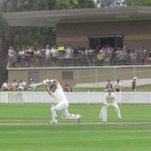 Ghosts bowlers against North Sydney