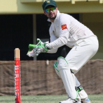 Ghosts wicket keeper and opening bat Nick Carruthers found some form on the weekend.