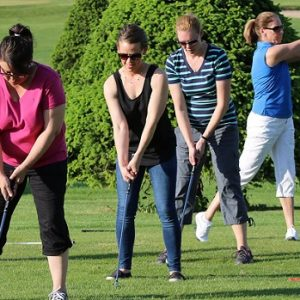 Golf course refresher for ladies who mean business