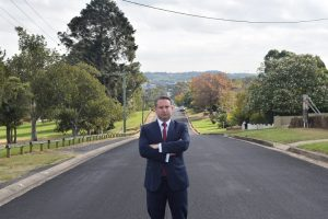 It's absurd to not have a rail line from the new airport to a major regional centre like Campbelltown, says local MP Greg Warren.