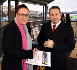 Campbelltown MP Greg Warren got out early this week to chat to commuters at Campbelltown station. He said commuters were eager to sign his petition calling for a multi-storey car park.